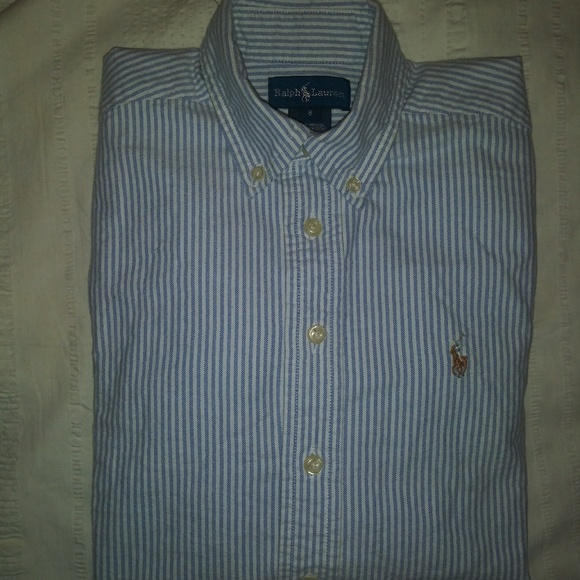 ca71666a Polo by Ralph Lauren Shirts & Tops | Polo By Rl Striped Long Sleeve ...